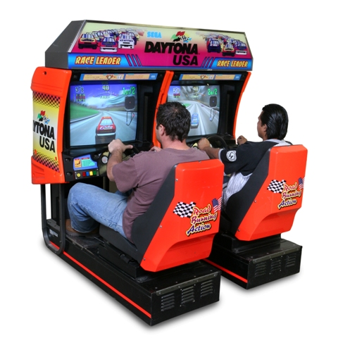 daytona arcade game rental