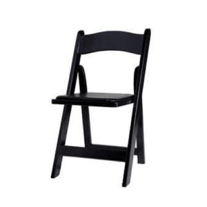 black-wood-folding-chair-rental