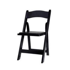 black-wood-folding-chair-rental