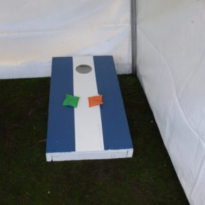 Corn hole-toss carnival game rental