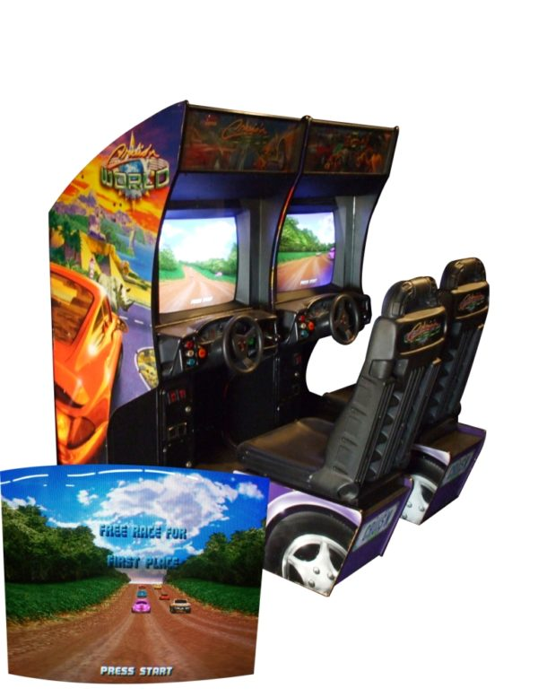 cruisin world arcade rental