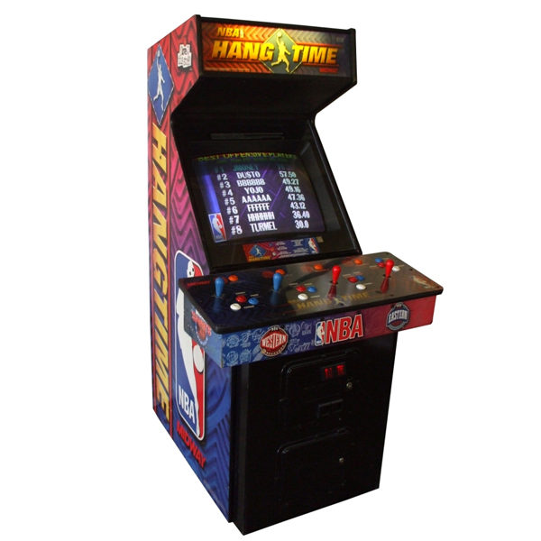 NBA-Hang time-arcade-rental