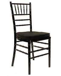 Chiavari Chairs Black with Cushion