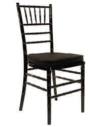 Chiavari Chairs Black with Cushion
