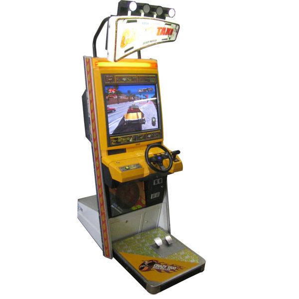 crazy taxi arcade rental