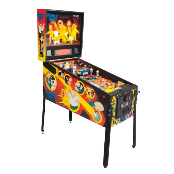 family guy pinball rental