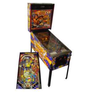 mousin around pinball rental