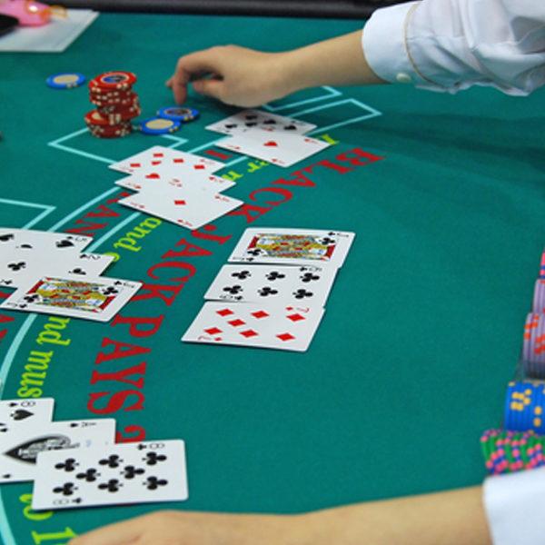 rent blackjack table