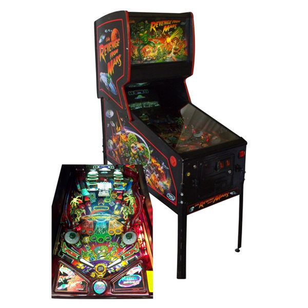 revenge from mars pinball rental