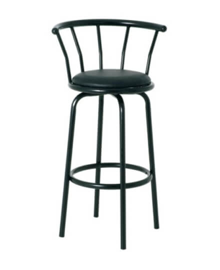 black bar stool rental