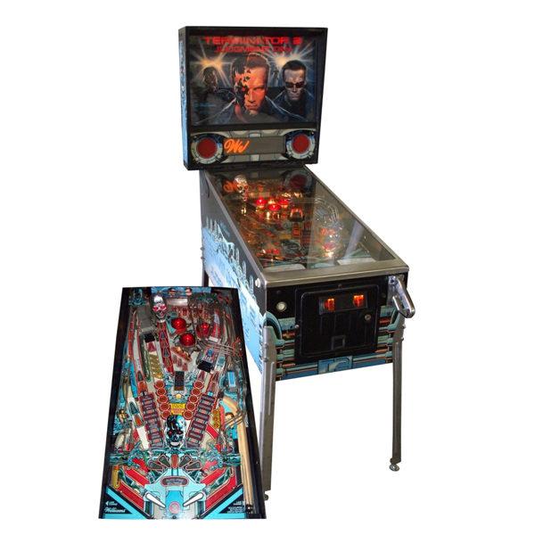 terminator 2 pinball rental