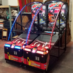 basketball shooting arcade rental