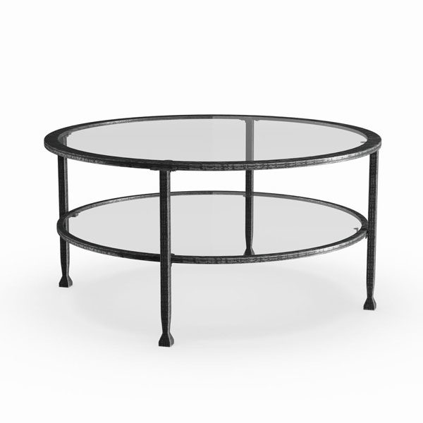 round-metal-and-glass-coffee-table-rental